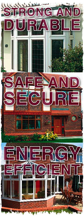 Strong, energy efficient, secure windows