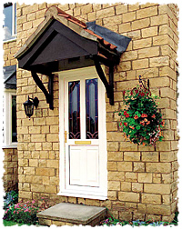 GRP composite doors feature Homeguard security